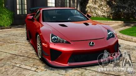 Lexus LFA 2012 Nurburgring Edition для GTA 4
