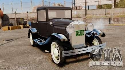 Ford Model T Truck 1927 для GTA 4