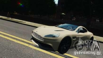 Aston Martin Vanquish 2013 белый для GTA 4
