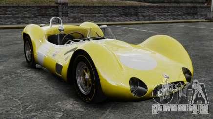 Maserati Tipo 60 Birdcage жёлтый для GTA 4