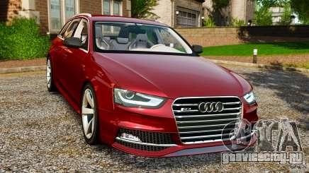 Audi RS4 Avant 2013 для GTA 4