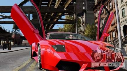 Lamborghini Murcielago RSV FIA GT1 для GTA 4