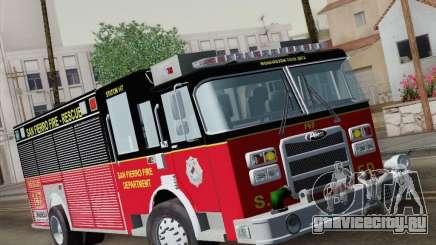 Pierce SFFD Rescue для GTA San Andreas