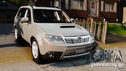 Subaru Forester 2008 XT для GTA 4