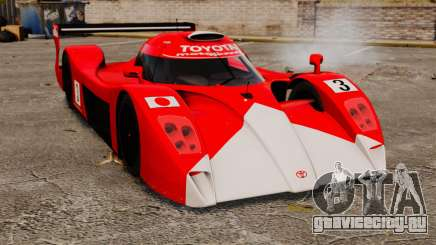 Toyota GT-One TS020 другие для GTA 4