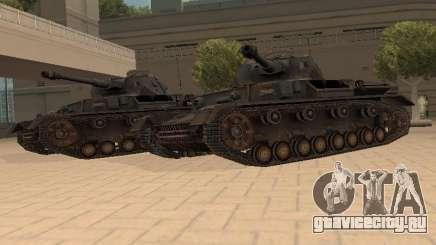 Pzkpfw IV для GTA San Andreas