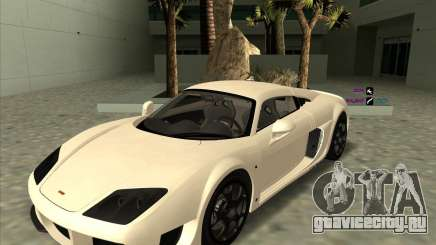 Noble M600 белый для GTA San Andreas