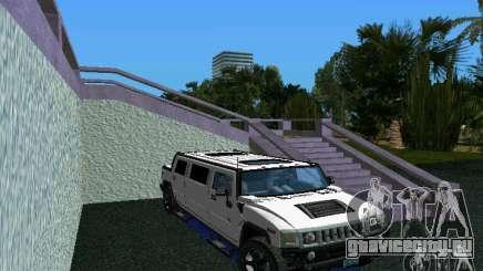 Hummer H2 SUT Limousine для GTA Vice City