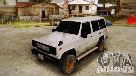 Daihatsu Taft Hiline Long для GTA San Andreas