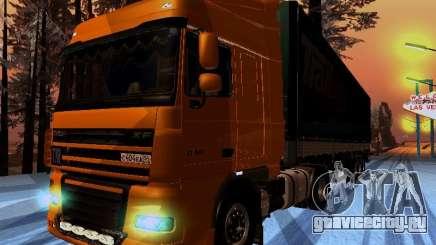 DAF XF105 для GTA San Andreas