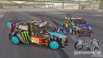 Ford Fiesta Gymkhana - Ken Block (Hoonigan) 2013 для GTA 4