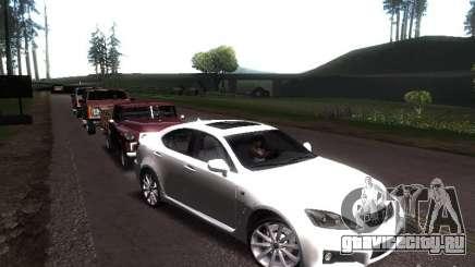 Lexus IS F для GTA San Andreas