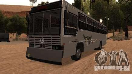 Mercedes Benz SWAT Bus для GTA San Andreas