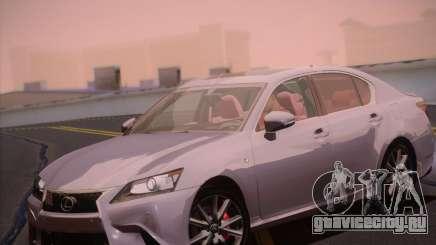Lexus GS 350 F Sport Series IV для GTA San Andreas