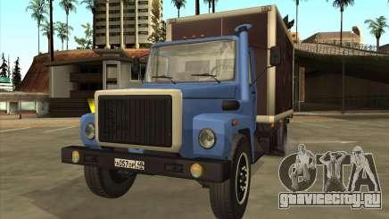 ГАЗ 3309 Фургон для GTA San Andreas