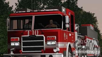 Pierce Arrow XT LAFD Tiller Ladder Truck 10 для GTA San Andreas