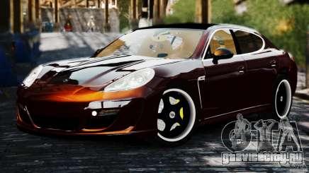 Porsche Panamera Gemballa Mistrale 2010 для GTA 4