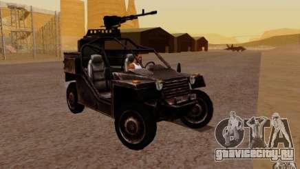 VDV Buggy из Battlefield 3 для GTA San Andreas
