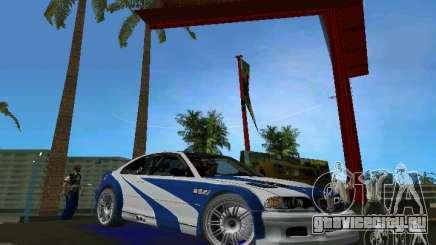 BMW M3 GTR NFSMW для GTA Vice City