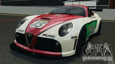Alfa Romeo 8C Competizione Body Kit 1 белый для GTA 4