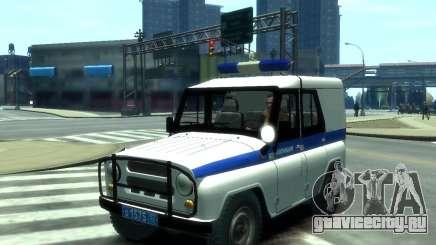 УАЗ 31512 Полиция для GTA 4