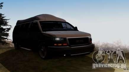 GMC Savana AWD для GTA San Andreas
