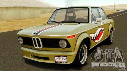 BMW 2002 Turbo 1973 для GTA 4
