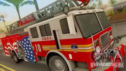 Seagrave FDNY Ladder 10 для GTA San Andreas