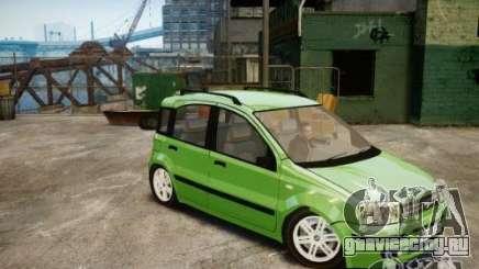 Fiat Panda 2004 v2.0 для GTA 4