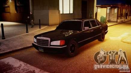 Mercedes-Benz 560 SEL Black Edition для GTA 4