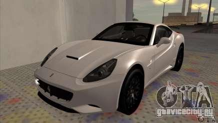 Ferrari California Hamann для GTA San Andreas