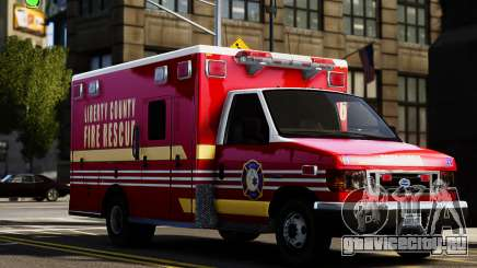 Ford Econoline E350 Ambulance для GTA 4