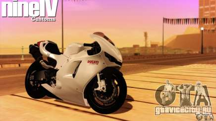 Ducati Desmosedici RR 2012 для GTA San Andreas