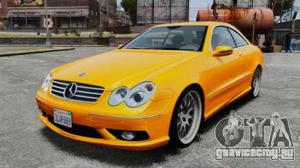 Mercedes-Benz CLK 55 AMG для GTA 4