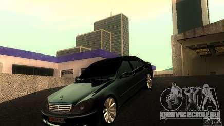 Mercedes-Benz S600 W200 для GTA San Andreas