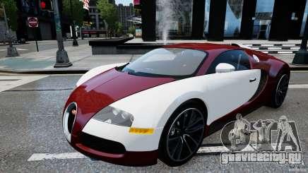 Bugatti Veyron 16.4 v1.0 wheel 1 для GTA 4