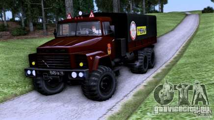КРАЗ Автошкола для GTA San Andreas