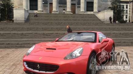 Ferrari California 2009 для GTA 4