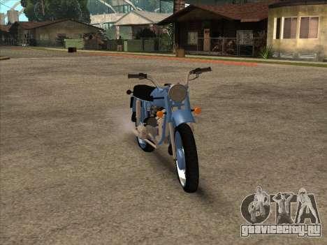 Урал М-67 для GTA San Andreas вид сзади