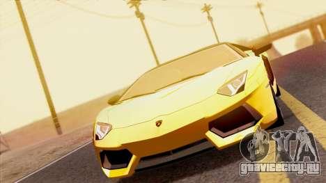 Lamborghini Aventador LP760-2 2013 для GTA San Andreas вид справа