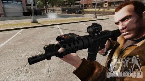 Тактическая M4 v1 для GTA 4 четвёртый скриншот