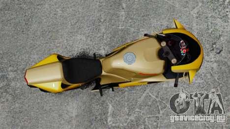 Ducati 848 для GTA 4 вид сзади слева