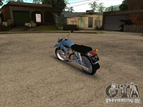 Урал М-67 для GTA San Andreas вид справа