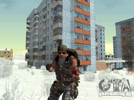 Спецназовец для GTA San Andreas седьмой скриншот