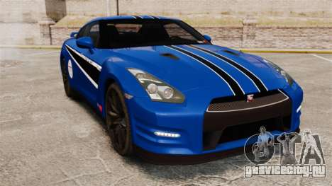 Nissan GT-R 2012 Black Edition AMS Alpha 12 для GTA 4