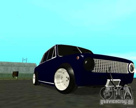 ВАЗ 2101 Baby v3 для GTA San Andreas вид сверху