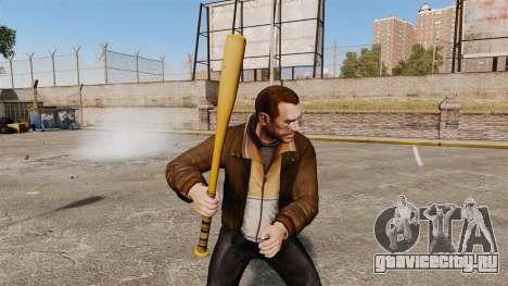 Новая бейсбольная бита для GTA 4