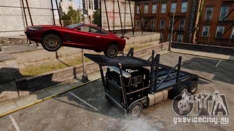 Packer-трамплин для GTA 4 вид сзади