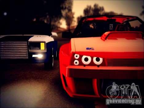 ВАЗ 21093 Devil для GTA San Andreas вид сзади слева