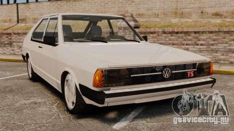 Volkswagen Passat TS 1981 для GTA 4